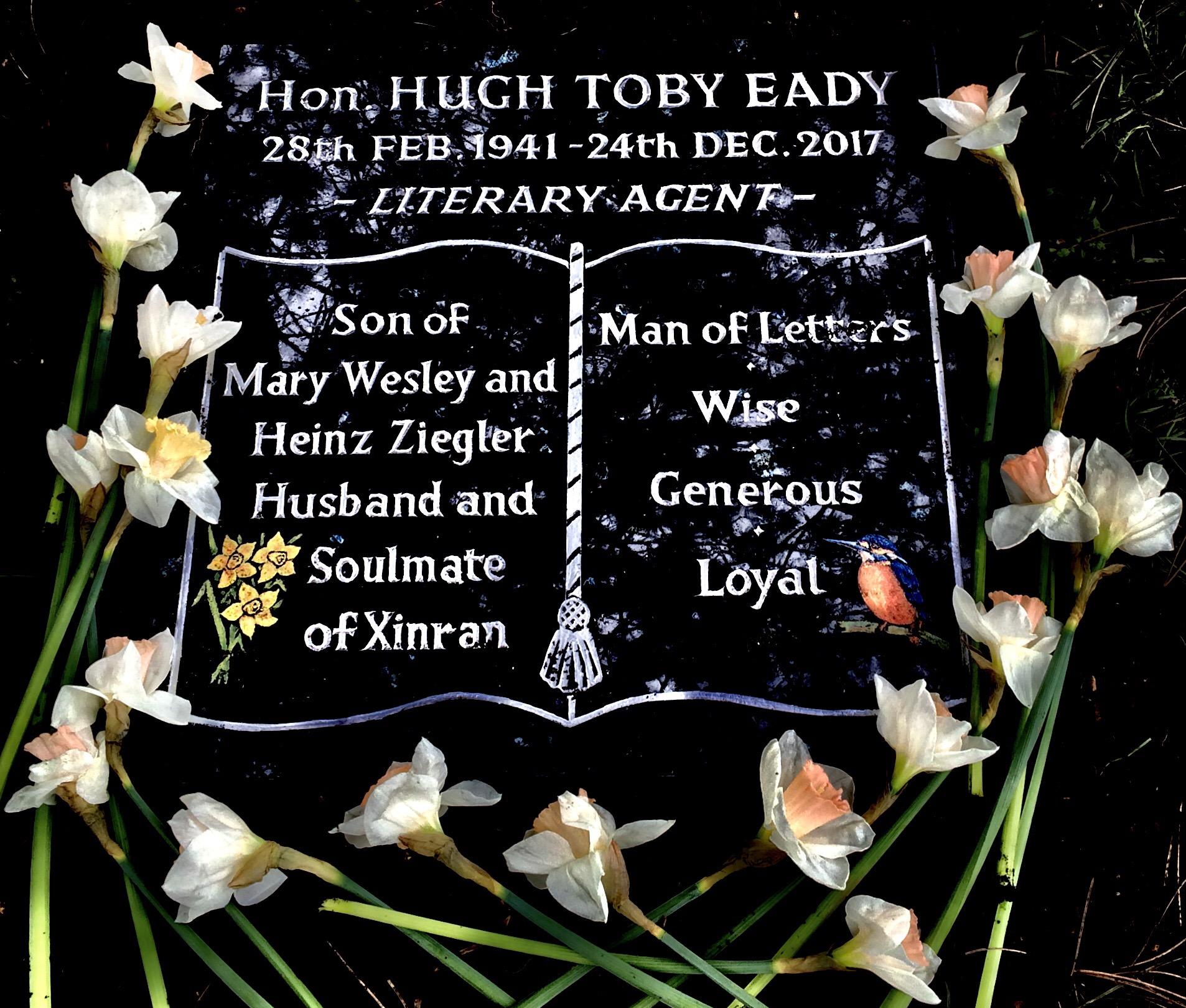 Toby Eady Gravestone